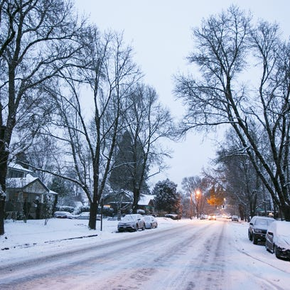 New Salem and Portland snowfall could reach five inches, in coldest snap of the year