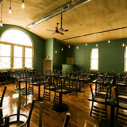 Looking Glass Brewing Company opens in downtown DeWitt church