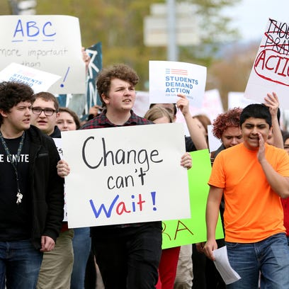 Students gather at Oregon Capitol for March for Our Lives rally in Salem