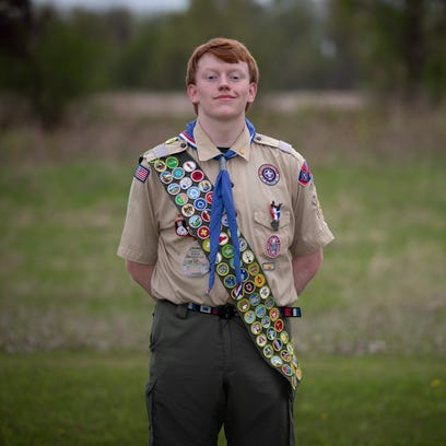 Greenville teen in rare company among Boy Scouts with 140th merit badge