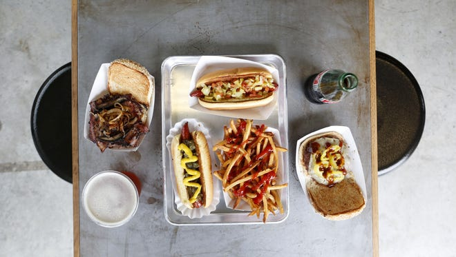 The Filling Station serves locally-sourced burgers and hot dogs at its second location in West Haverstraw.