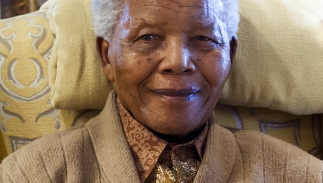 Former South African President Nelson Mandela is pictured on July 17, 2012 at his home in Qunu, Eastern Cape, on the eve of his 94th birthday.