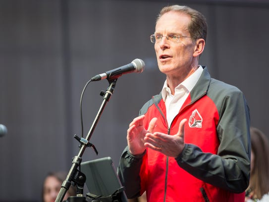 Geoffrey Mearns, President of Ball State University,