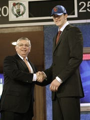 Darco Milicic is one of the more famous NBA draft busts
