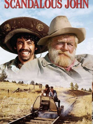 """A G-rated, Disney movie, """"Scandalous John"""" retells the Don Quixote story as a modern comedic western."""