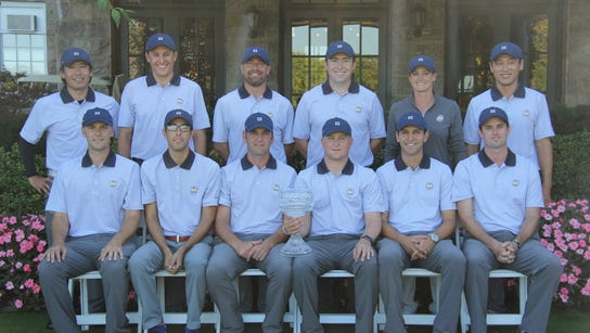 The assistants team for the Gene Borek Squire Cup at