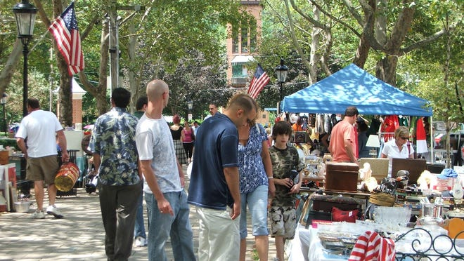 The World's Longest Yard Sale happens this weekend along the Route 127 corridor.