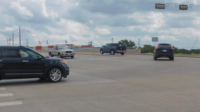 Traffic passed through the intersection of FM 1417 and the U.S. Highway 75 frontage road Wednesday. The city continues to view the FM 1417 corridor as a major future growth corridor.