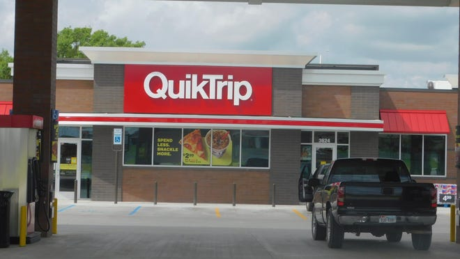 The QuikTrip station at the corner of FM 1417 and U.S. Highway 75 represents the fourth gas station to develop at the intersection and what is becoming a development hub for the city of Sherman.