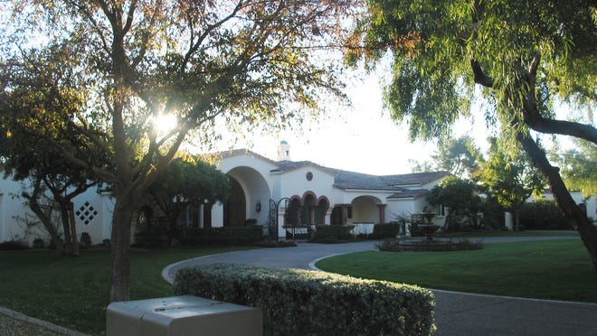 Thomas and Deanna Smith paid $3 million for this 8,101 square-foot home on more than an acre and a half at Paradise Valley Farms in Scottsdale. The sale closed during the week of Jan. 5, 2015.