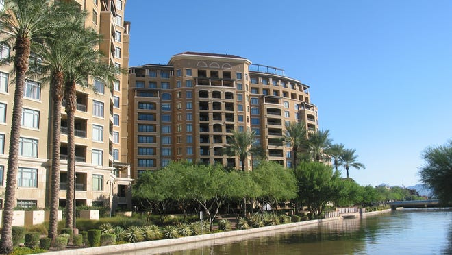 Bruce Shapiro paid $3 million for a 3,472 square-foot condominium at Scottsdale Waterfront Residences in Scottsdale. The sale closed during the week of March 9, 2015.