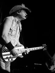 Ted Nugent brought monster guitar licks, a hard-rocking