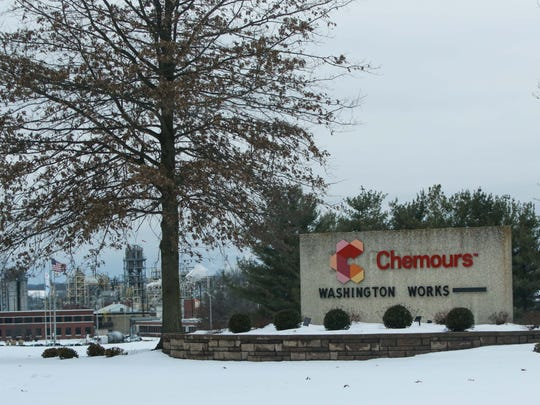 DuPont's former Washington Works plant, since transferred to Chemours.