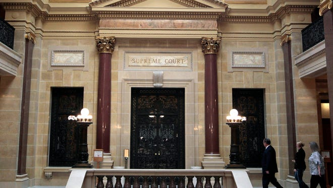 The Wisconsin Supreme Court chambers.