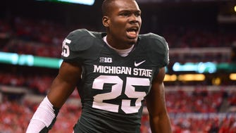 Former Michigan State Spartans wide receiver Keith Mumphery.