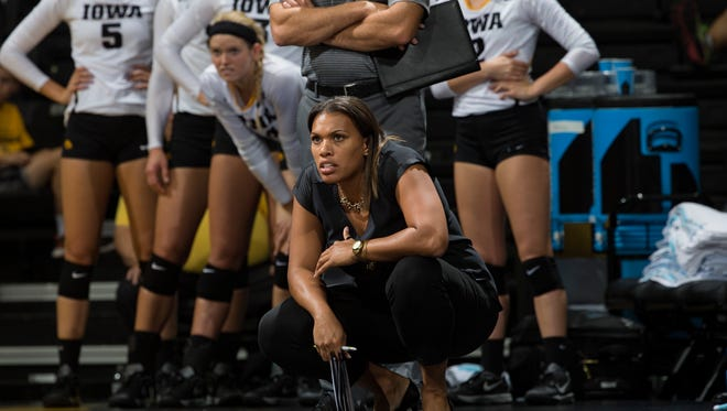 Michaela Franklin was the associate head coach at Iowa before coming to Clemson.
