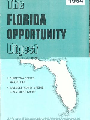 The ad agency for GALC gave away free, 30-page promotional booklets hyping the west coast Florida lifestyle.