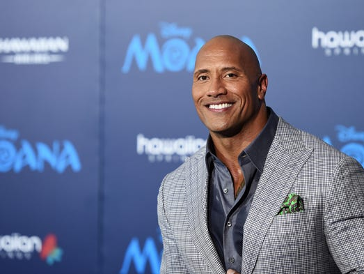 HOLLYWOOD, CA - NOVEMBER 14:  Actor Dwayne Johnson