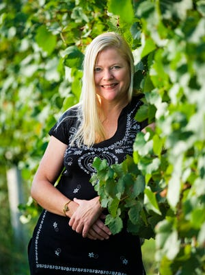 Peggy Raley-Ward is founder and co-owner of Nassau Valley Vineyards in Lewes.
