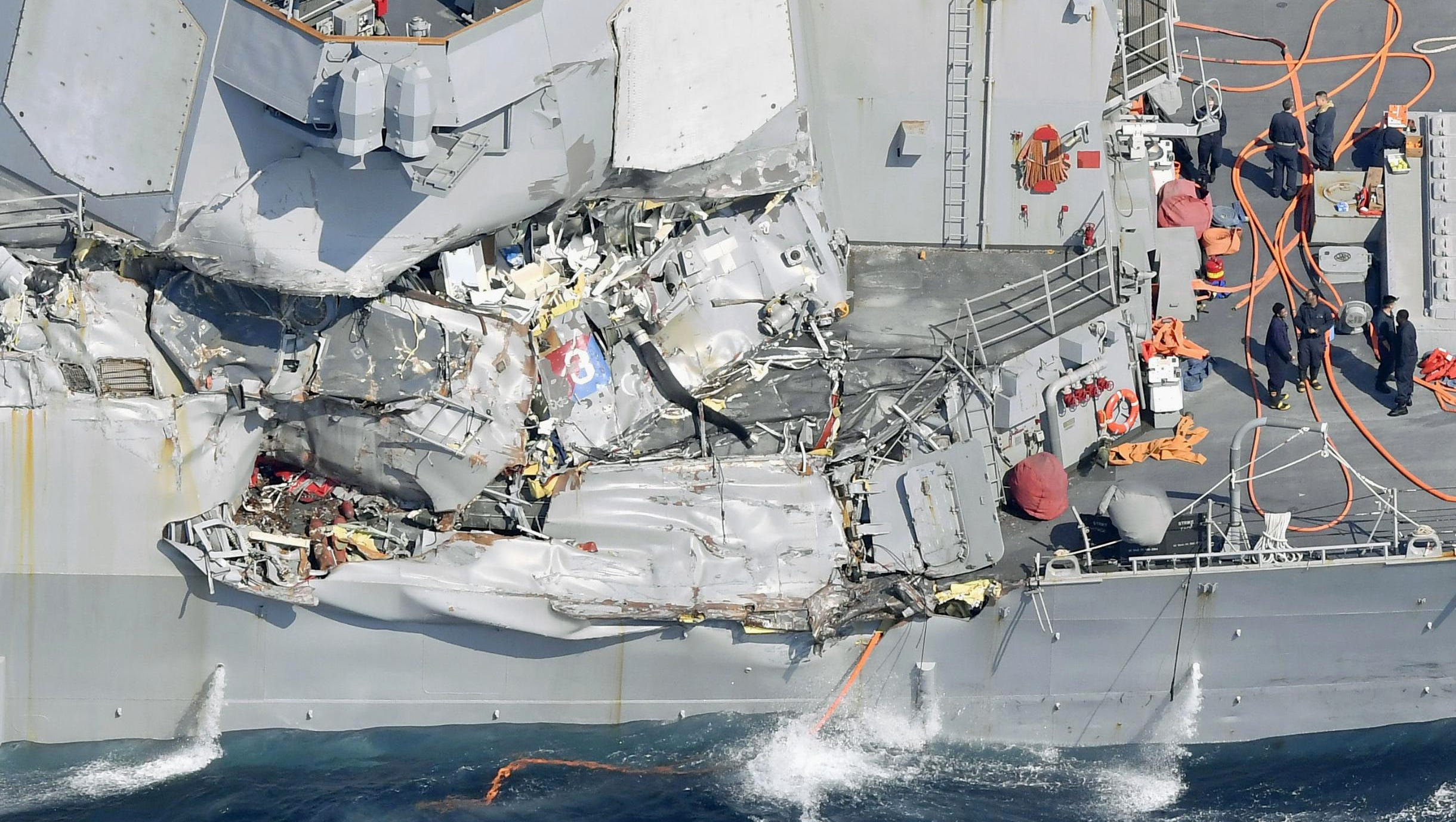 Bodies Of Missing USS Fitzgerald Sailors Found