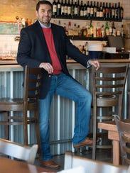 Michael Dickinson of Lewes wears a Ralph Lauren blazer
