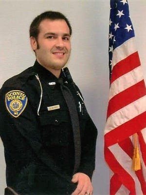 Oconto Police Officer Erek Belongia