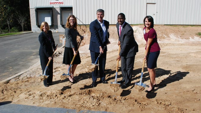 On Tuesday, a groundbreaking ceremony marked the beginning of an expansion project at Danfoss Turbocor, the world's leading producer of energy compressors.