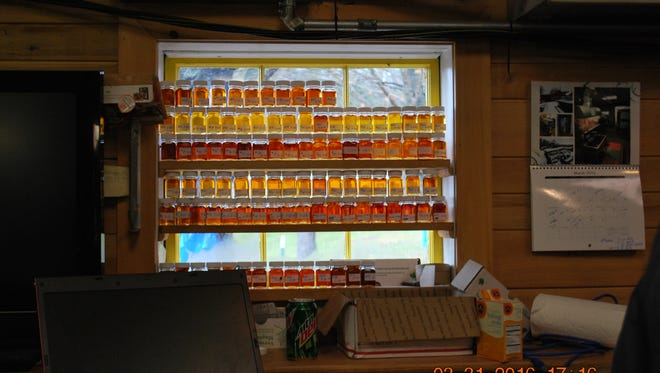 Maple Hollow of Merrill has a bottling facility and makes other maple products, such as maple candy, maple-flavored barbecue sauce and cream spreads.