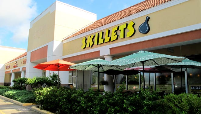 The fifth location of Skillets restaurant opened in 2014 the Strand shopping center off Immokalee Road in North Naples.