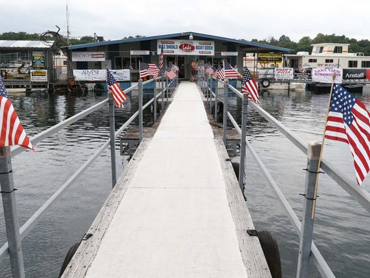Bull Shoals Lake Boat Dock is a tangible example of