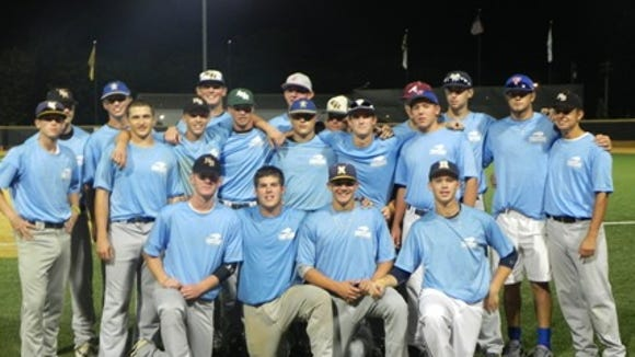 Western North Carolina's State Games underclassmen team from 2012