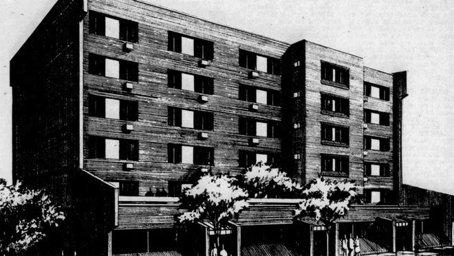 The Huey apartment building for seniors was ready for occupation in 1978.