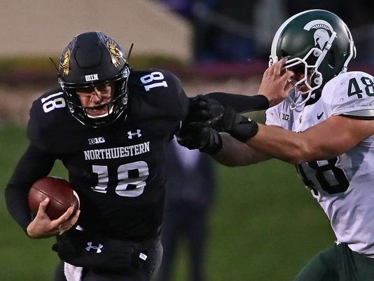Michigan State v Northwestern