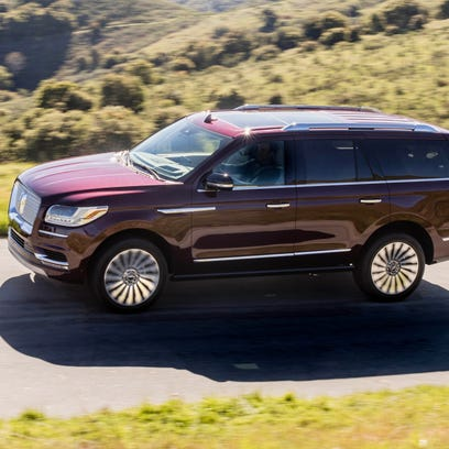 First drive: 2018 Lincoln Navigator Black Label features African mahogany, 30-way seats