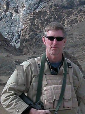 Frank Butler in Afghanistan in 2003.