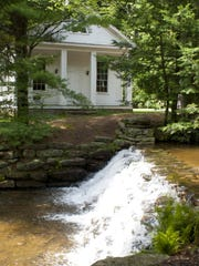 The chapel at Hickory Run State Park will sit 50 people and is frequently used for weddings.