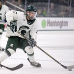 Michigan State hockey tops Bowling Green, 3-2, for Danton Cole's first win