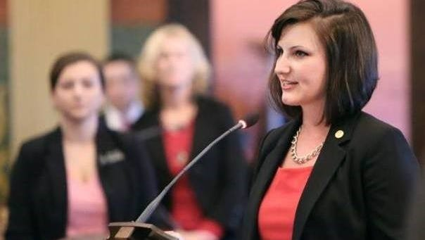 """State Rep. Kristy Pagan, D-Canton, said, """"Canton is my hometown"""" in response to a lawsuit questioning her residency."""