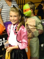 Smiles were as plentiful as candy at the Halloween Festival.