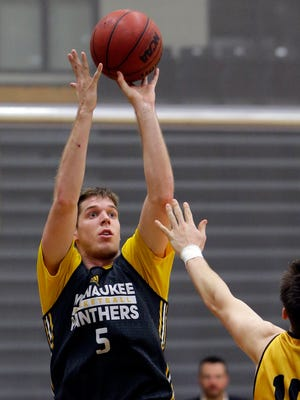 UW-Milwaukee senior Cody Wichmann led the Panthers with 18 points Wednesday night, but it wasn't enough to overcome the Memphis Tigers on the road.