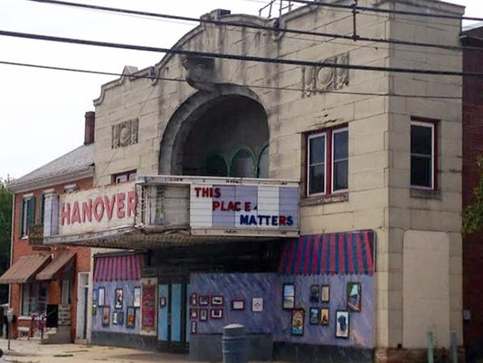The Hanover State Theatre on Frederick Street is the subject of two upcoming public focus group discussions at the Guthrie Memorial Library. File Photo -- The Evening Sun