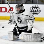 Port Huron native Jack Campbell earns first career win with Los Angeles Kings