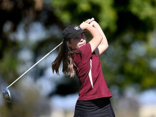 West Valley High School girls golf team member Kailee