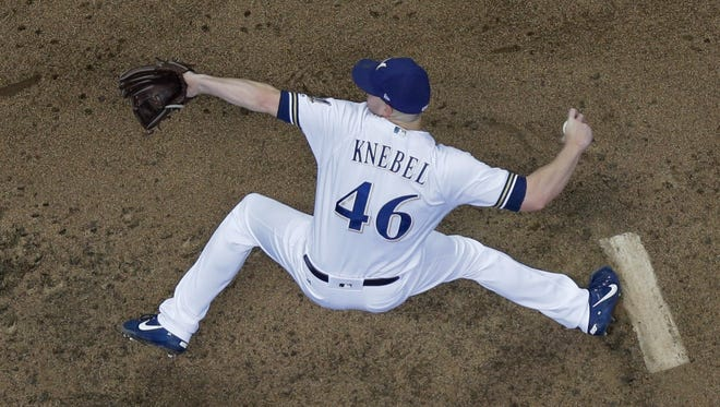 Brewers closer Corey Knebel was named to his first All-Star Game on Sunday. Knebel has struck out at least one batter in 40 straight appearances, a major-league record for relievers.