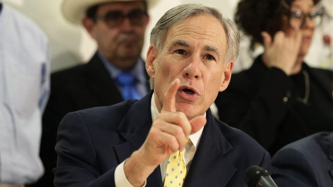 Gov. Greg Abbott on Sunday issued a disaster declaration for 23 Texas counties as the state prepares for two storms brewing in the Gulf of Mexico.