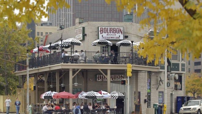 Bourbon Street Distillery  361 Indiana Ave., closes  on Jan. 6, 2017.
