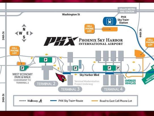 Phoenix sky harbor airport terminal parking coupon / Wcco ...