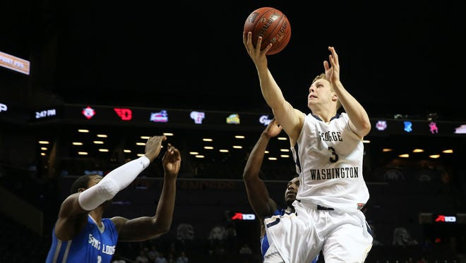 Paul Jorgensen (3) could be the second former George Washington player to transfer to Butler.
