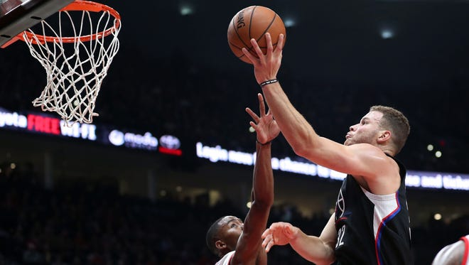 Blake Griffin scored 27 points for the Clippers.