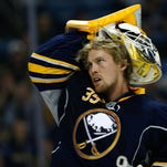 After a trade from Dallas to Buffalo this past season, Anders Lindback played well to finish the year.